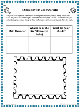 3rd Grade National Geographic Reach for Reading (Unit 1 Week 2 Supplement)