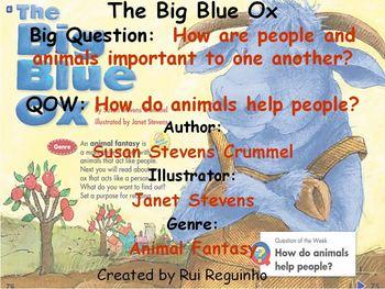 Unit 1 Week 3 - Big Blue Ox - Lesson Bundle (Versions 2013