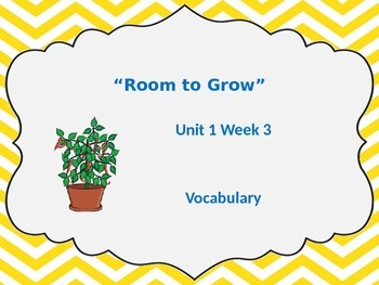 Unit 1 Week 3 Vocabulary Powerpoint