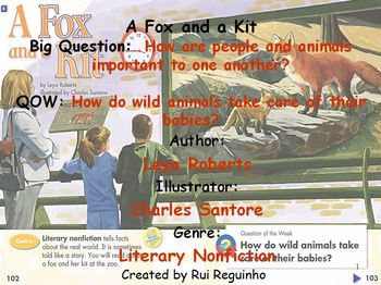 Unit 1 Week 4 - A Fox and a Kit - Lesson Bundle (Versions 2013, 2011, and 2008)
