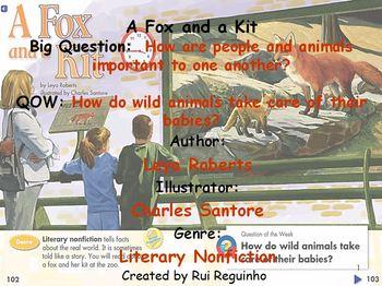 Unit 1 Week 4 - A Fox and a Kit - Lesson Bundle (Versions