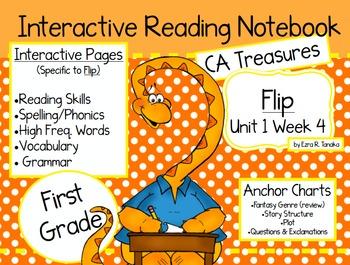 CA Treasures • Flip • Interactive Notebook • Unit 1 Week 4