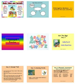 Unit 1 Week 5 - Get the Egg - Lesson Bundle (Versions 2013, 2011, and 2008)