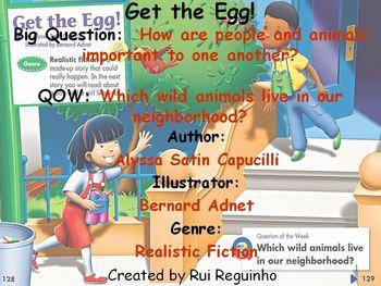 Unit 1 Week 5 - Get the Egg - Lesson Bundle (Versions 2013