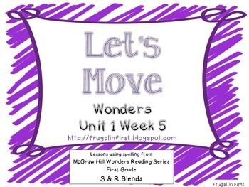 Wonders Unit 1 Week 5 (S Blends/R Blends)