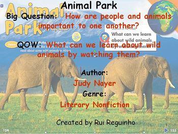 Unit 1 Week 6 - Animal Park - Lesson Bundle (Versions 2013, 2011, and 2008)