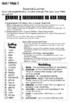 Unit 1 Weeks 1-5 Study Guides- Reading Wonders