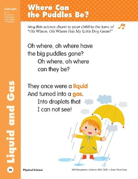 Unit 1: Where Can the Puddles Be? (Skill Sharpeners: Science)