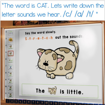 Unit 1: Word Families PAPERLESS Guided Spelling (from Guided Spelling Bundle)