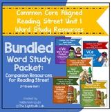 Unit 1 Word Study Packet Bundle