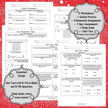 Equivalency \u0026 Percents Worksheets - (6th Grade Math TEKS 6.4E-G and 6.5B-C)