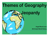 Unit 1 World History - Jeopardy Game (Places) SmartBoard Game