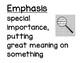 Unit 1 wk 3 Vocabulary Cards