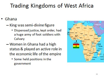 Unit 10: Africa (World History/Global 9 Ch 12)
