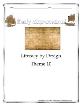 Unit 10: Early Exploration for the Literacy by Design Program