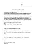 Unit 10 Homework Packet