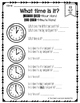 Unit 10- Time Guided Math Grade 1