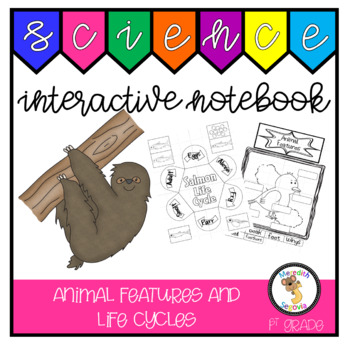 Animal Features and Life Cycles (1st Grade Notebook)