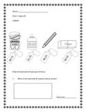 Unit 11 Everyday Math - 2nd Grade - Quizzes