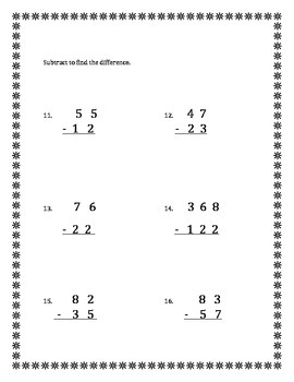 Unit 11 Everyday Math - 2nd Grade - Test