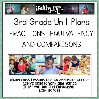 Unit 11 Fractions Equivalency and Comparisons 3.3G 3.3F 3.3H