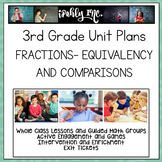 3rd Grade Lesson Plans Fractions Equivalency and Compariso