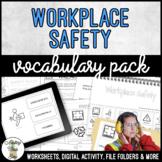 Unit 11 Workplace Safety - Vocabulary Pack