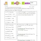 Unit 12 Everyday Math 2nd Grade Starred Skills Common Core