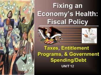 Unit 12: Fixing an Economy Fiscal Policy and Taxation Lecture