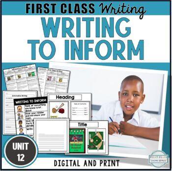Unit 12 - Informative Writing