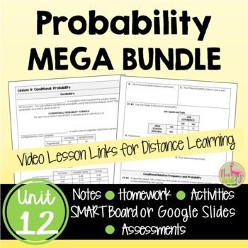 Algebra 2: Probability Bundle