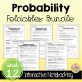 Probability FOLDABLES™ (Algebra 2 - Unit 12)