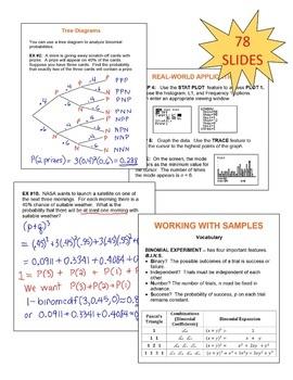 Algebra 2: Data Analysis and Statistics SMARTBOARD Lessons Bundle