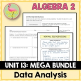 Algebra 2 Data Analysis and Statistics Bundle