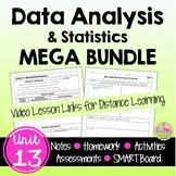 Data Analysis and Statistics MEGA Bundle (Algebra 2 - Unit 13)
