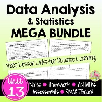 Data Analysis and Statistics Bundle
