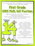 First Grade CORE Math Unit 14