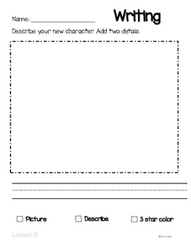 Unit 1A, Reading and Writing practice Aligned with Kindergarten ReadyGEN