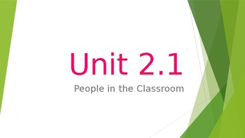 Unit 2.1 Continued