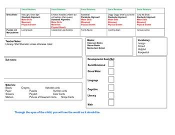 Unit 2 3 week lesson plans (Community)