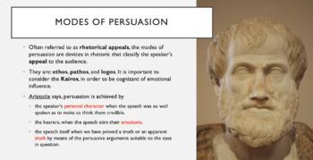 Unit 2: AP Language & Composition - focus on audience, appeals, and claims
