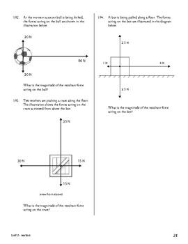 Unit 2 Activity 5 - Determining the Magnitude of Multiple Perpendicular Vectors