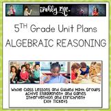 Algebraic Reasoning 5.4A 5.4B 5.4E 5.4F