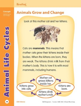 Unit 2: Animal Life Cycles (Skill Sharpeners: Science)