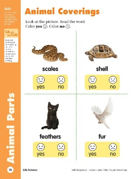 Unit 2: Animal Protection (Skill Sharpeners: Science)
