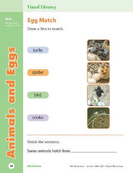 Unit 2: Animals and Eggs (Skill Sharpeners: Science)