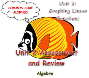 Unit 2 Assessment and Review (Graphing Linear Functions)