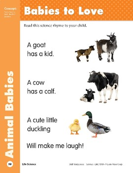 Unit 2: Babies to Love (Skill Sharpeners: Science)