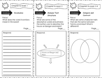 Unit 2 Benchmark Literacy Tri-folds Grade 3