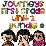 Unit 2 Journeys 1st Grade Bundle Supplement Activities